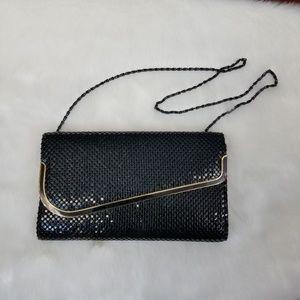 Vintage Bags - Vintage black evening bag